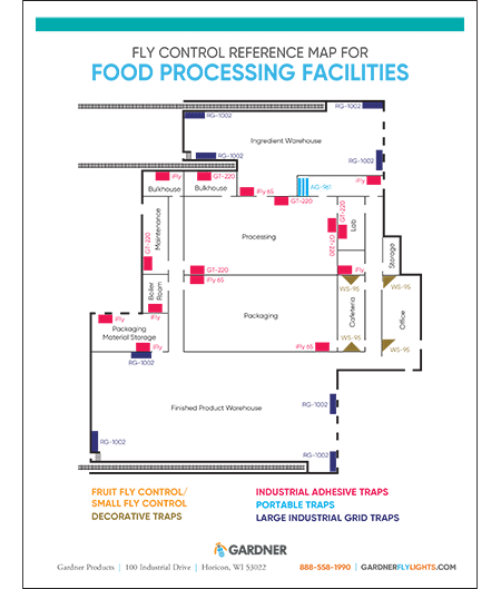 FoodProcessing Map