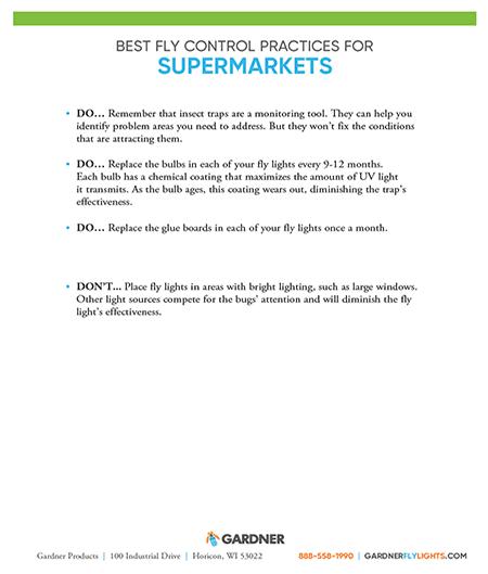 Best Practices Supermarkets