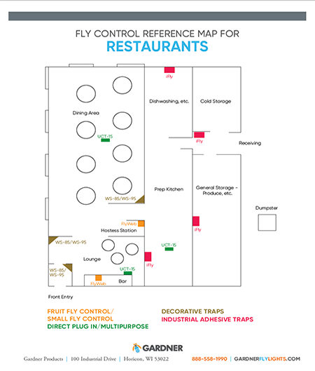Restaurants Map