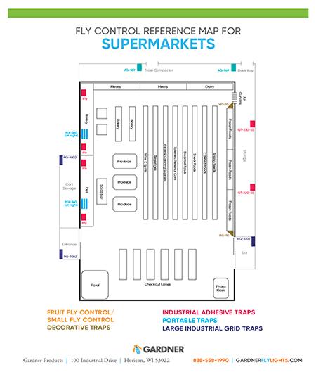 Supermarkets Map